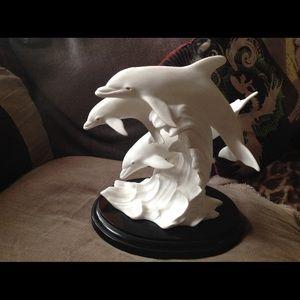 Lenox DANCE OF THE DOPLHINS porcelain figurine